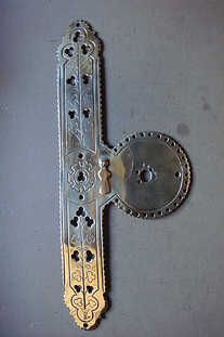 Beau Antique Door Finger Plates | Antique Door Furniture | Antique Lock Furniture