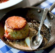 How to Make Lobster Steak Recipe Main Dishes with lobster, shrimp, softened butter, chives, lemon zest, pepper, salt, wondra flour