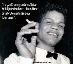 """Thierry Paulin, """"l'assassin de vieilles dames"""", a tué 20 dames âgées entre 1984 et 1987 à Paris. Thierry, 1984, Serial Killers, Assassin, Psychology, Crime, The Outsiders, Acting, Paris"""