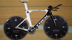 Jens Voight's bike on which he'll attempt the World Hour Record on September 18th 2014