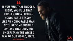 Tom Hardy as Alfie Solomons in 'Peaky Blinders' Peaky Blinders Season, Peaky Blinders Series, Peaky Blinders Quotes, Cillian Murphy Peaky Blinders, Tv Show Quotes, Movie Quotes, Life Quotes, Qoutes, Eminem Quotes