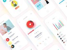 UI/UX app design