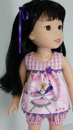 Sewing patterns for doll clothes for  wellie wishers dolls by Oh Sew Kat!  #ohsewkat #welliewishers #dollclothes #agig #dolldress
