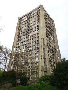 Raketa / Rocket building / Zagreb Croatia  #socialist #brutalism #architecture