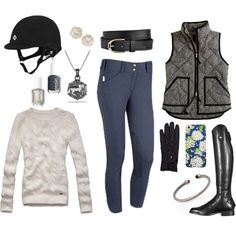 """""""Herringbone and Cable Knit"""" by high-standards on Polyvore"""
