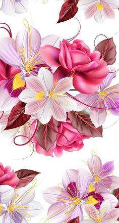 New wall paper phone pink design 49 Ideas Pink Wallpaper Iphone, Butterfly Wallpaper, Colorful Wallpaper, Cellphone Wallpaper, Nature Wallpaper, Art Floral, Motif Floral, Flower Backgrounds, Phone Backgrounds