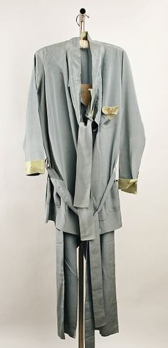 Loungewear.  Callot Soeurs  (French, active 1895–1937).  Date: 1926–27. Culture: French. Medium: silk.