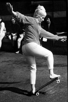 #vintage #skate #girl