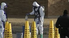 Four children died after someone at their home sprayed water on an applied pesticide, causing a reaction that resulted in toxic gas, officials in Amarillo, Texas, said.