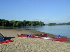 Sand bar camping at its best!  WI River Outings www.86641canoe.com
