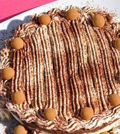 Tarta sin gluten de chocolate y mascarpone