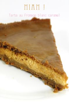 recette tarte au fromage blanc et caramel beurre salé Fish Recipes, Sweet Recipes, Whole Food Recipes, Dessert Recipes, Cake Ingredients, Homemade Tacos, Homemade Taco Seasoning, Desserts With Biscuits, Sweets