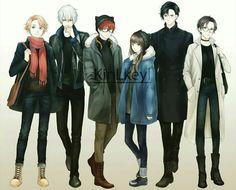 Immagine di anime, luciel, and seven