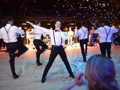 Watch a Professional Dancer Surprise His Bride at Their Wedding with an Epic Dance http://www.people.com/article/eight-minute-groom-dance-wedding-surprise-video