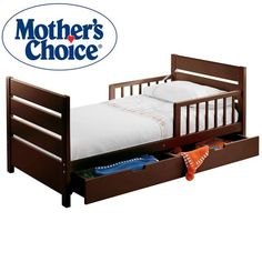 Mothers Choice Toddler Bed With Drawer