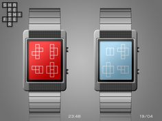 """Shapeshifter"" concept watch design on the Tokyoflash blog."