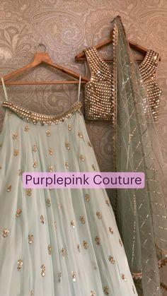 Party Wear Indian Dresses, Designer Party Wear Dresses, Indian Gowns Dresses, Indian Bridal Outfits, Dress Indian Style, Indian Fashion Dresses, Indian Designer Outfits, Party Wear Lehenga, Bridal Lehenga