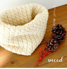 手編みしよう♪スヌードの簡単な編み方・編み図【棒針編み】 – Handful[ハンドフル]