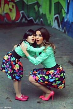 Choose from the best and beautiful matching African ankara styles for mother and daughter. These ankara styles are meant for stunning mother and daughter Mother Daughter Photos, Mother Daughter Matching Outfits, Mother Daughter Fashion, Mommy And Me Outfits, Mom Daughter, Family Outfits, Kids Outfits, Mother Daughters, Kids Fashion Boy