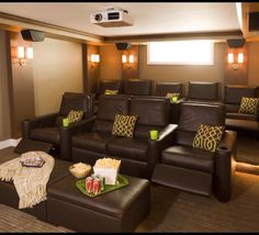 Home Theater Ideas Living Room. Find great deals on imagemag for Home Theater Ideas Living Room At Home Movie Theater, Home Theater Rooms, Home Theater Seating, Cinema Room, Home Theater Design, Media Room Design, Small Room Design, Living Room Theaters, My Living Room