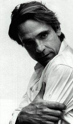 """""""What I try to do as an actor is constantly find that, find ways to risk, find opportunities to fall on my face if it's going to be worth it, and then maybe I'll surprise myself."""" -Jeremy Irons"""