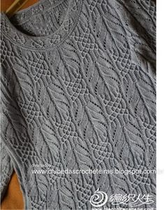 Best 12 Ravelry: Project Gallery for Aviara Pullover pattern by Irina Anikeeva – SkillOfKing. Crochet Cardigan Pattern, Sweater Knitting Patterns, Knitting Designs, Knitting Stitches, Knit Crochet, Diy Crafts Knitting, Easy Knitting, How To Purl Knit, Crochet Clothes