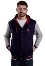 Iriedaily - Irie College Navy - Hooded College Jacket