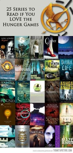 Series to read if you love the Hunger Games well, also great books Divergent and Legend series was hardest to put down...