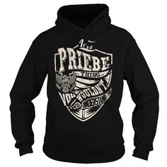 Its a PRIEBE Thing (Eagle) - Last Name, Surname T-Shirt