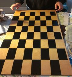 How to make a vertical chess board – by Redditor Bassilap