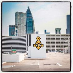 Invader @ Hong Kong... HK_106 - 50 pts  Photo : Lionel Belluteau Plus de photos sur https://ift.tt/YMhG58  @invaderwashere #invaderwashere  #hk #hongkong #hong_kong #hk_streetart #kowloon #harbourcity #harbour_city #anchor #unoeilquitraine #spaceinvader #hk_106 #50pts #spaceinvaders #flashinvaders #protect_them #invader #lionelbelluteau #invasion @unoeilquitraine