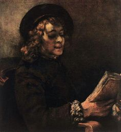 Rembrandt Van Rijn - Titus, 1657.