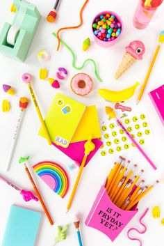 '4 Easy Back-To-School Supply DIYs...!' (via Aww, Sam)
