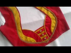 patch work blouse design - YouTube