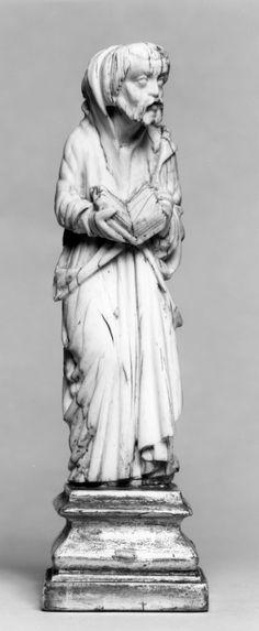 Apostle or Prophet. School of Giovanni Pisano (Italian) (Artist). PERIOD 1st half 14th century (Medieval). Ivory