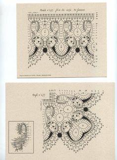 Album Archive - Pochette n 7 Bobbin Lacemaking, Lace Patterns, Vintage World Maps, Weaving, Album, How To Make, Inspiration, Needlecrafts, Type