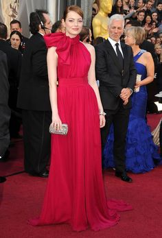 Academy Awards throwback: Emma Stone in Giambattista Valli at the 2012 Oscars