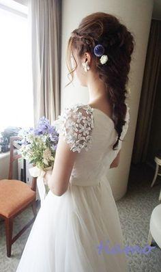 「 とっても可愛い花嫁さまのこだわりお洒落Wedding♡♡ 」の画像|大人可愛いブライダルヘアメイク『tiamo』の結婚カタログ|Ameba (アメーバ)