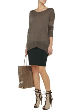 The Lazy Susan modal and cashmere-blend sweater | THE OUTNET