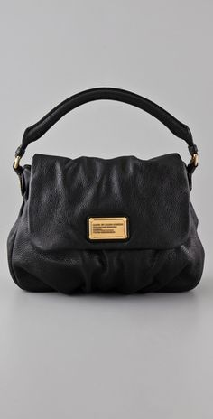 Simple, beautiful. Marc Jacobs Classic Q Lil Ukita Satchel at Shopbop.