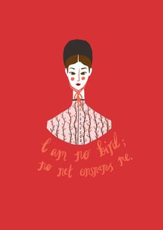Jane Eyre art by Sophie Blackhall-Cain