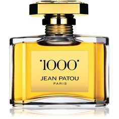 Jean Patou 1000 Eau de Parfum (610 BRL) ❤ liked on Polyvore featuring beauty products, fragrance, beauty fragrance perfumes, perfume fragrance, jean patou, jean patou perfume, edp perfume and eau de parfum perfume