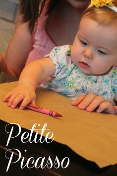 Petite Picasso - around 9 months old