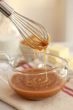 Learn how to make Microwave Salted Caramel Sauce, a quick and easy recipe to use on ice cream or any dessert for caramel lovers.
