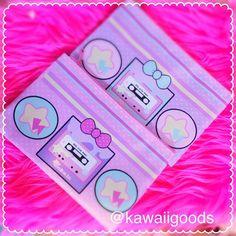 Fairy Kei Boombox Retro Fairy Kei Cassette Pouch Casette