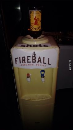 Fireball shots!