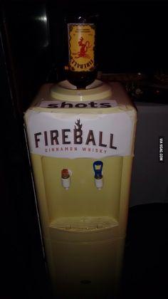 Fireball shots!