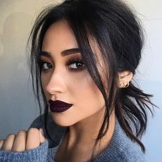 These vampy lip shades look good on every single skin tone. Choose from the deep purple hues to upgrade your vanity this fall.