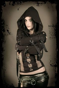 Madness Shrug Hoodie DiY Top Handmade to Your by aNGrYGiRLGear, $145.00