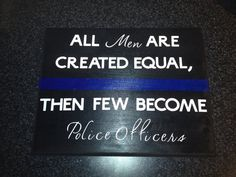 Police Officer Wooden Sign love it Police Officer Wife, Police Wife Life, Police Family, Gifts For Cops, Board And Brush, Blue Line Police, Police Academy, Thin Blue Lines, Wooden Signs